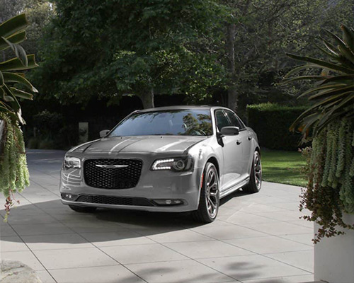 Silver Chrysler 300 Touring for sale or lease at Eide Chrysler in Bismarck ND.