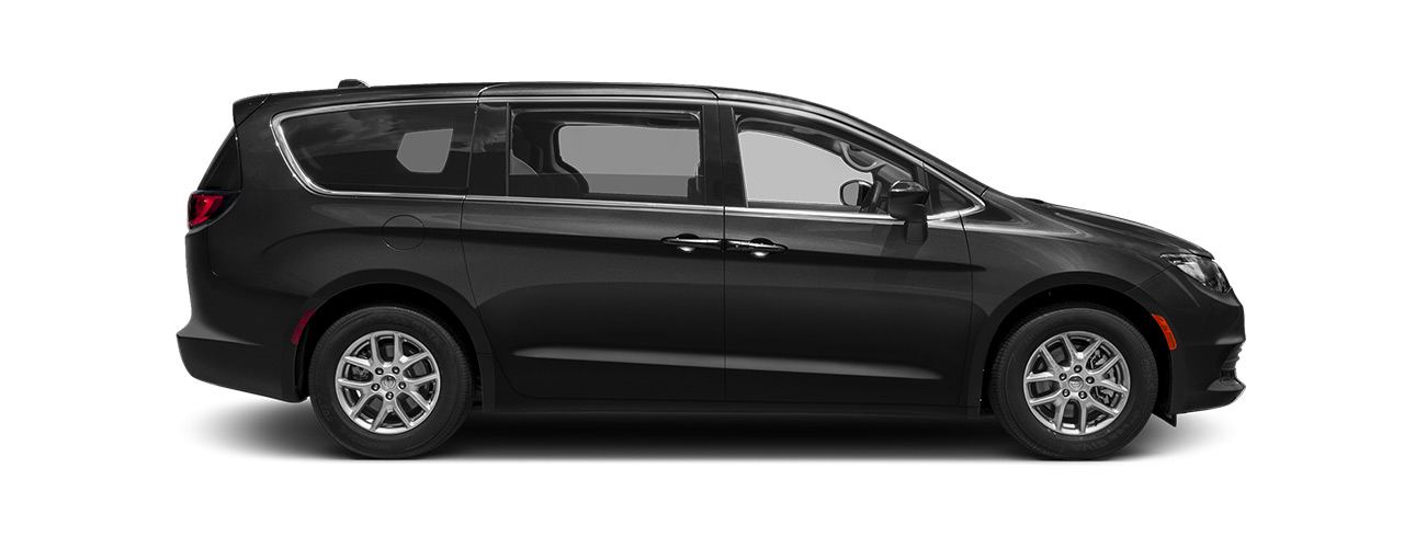 Black Chrysler Pacifica waiting for you at Eide CDJR Pine City in Pine City MN.