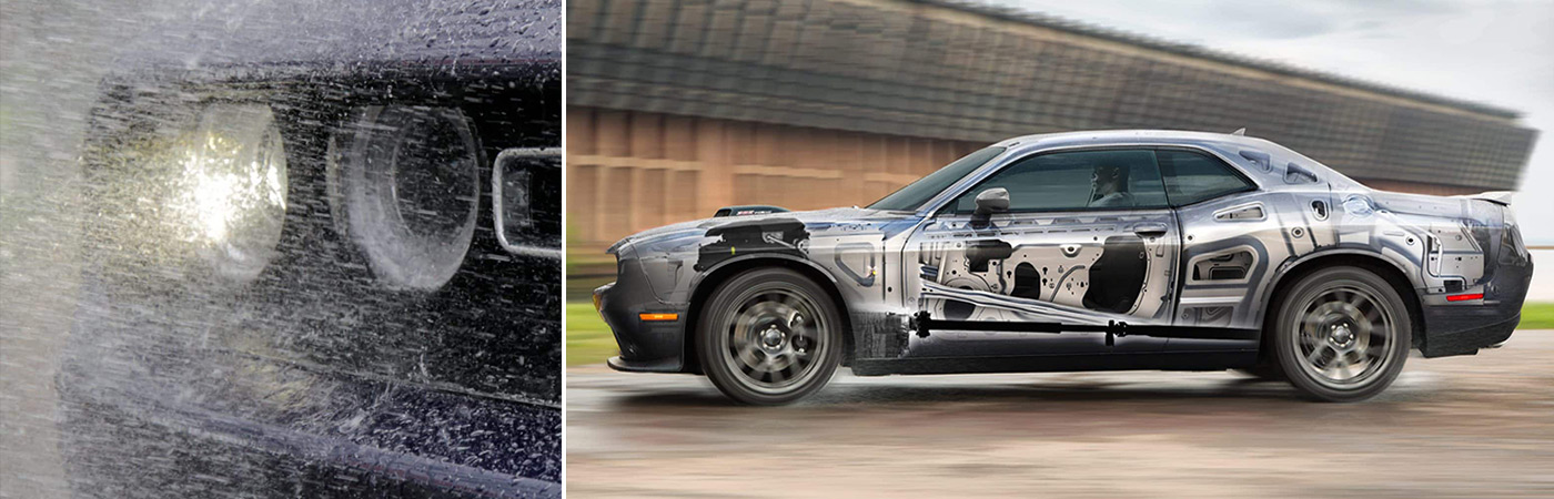 The latest Dodge Challengers for sale at Eide Chrysler come loaded with safety features.