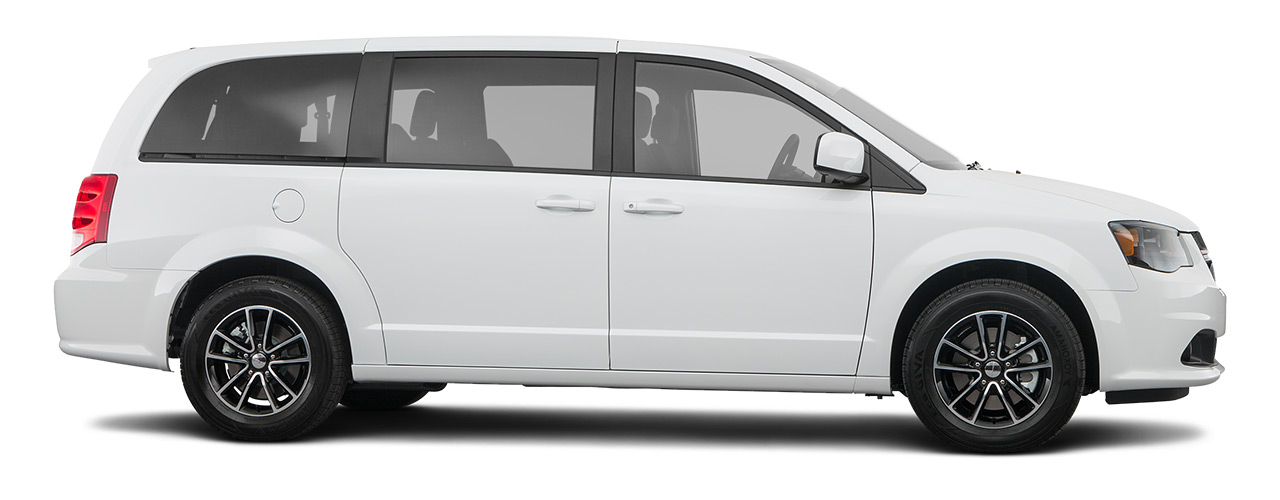 White Dodge Grand Caravan waiting for you in Atlanta at Landmark Chrysler Dodge Jeep Ram FIAT of Atlanta.