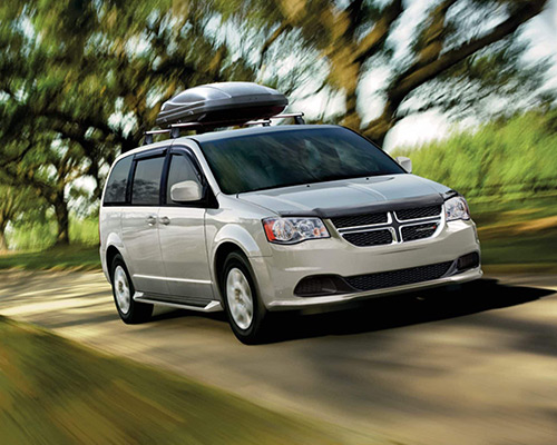 Silver Dodge Grand Caravan SE for sale or lease at Landmark Chrysler Dodge Jeep Ram FIAT of Atlanta in Atlanta GA.
