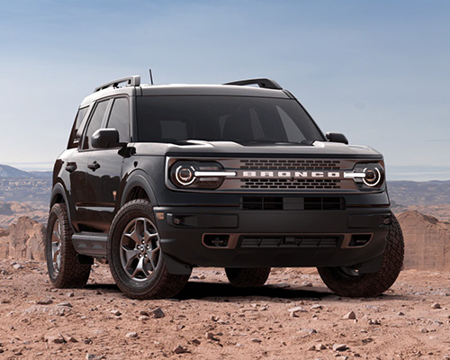 Black 2021 Ford Bronco Sport Badlands for sale or lease here at Bill Dube Ford in %SEO_LOCATION.