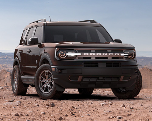 Brown 2021 Ford Bronco Sport Big Bend for sale or lease here at Bill Dube Ford in %SEO_LOCATION.