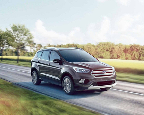 2019 Grey Ford Escape Titanium for sale at Sayville Ford in Long Island.