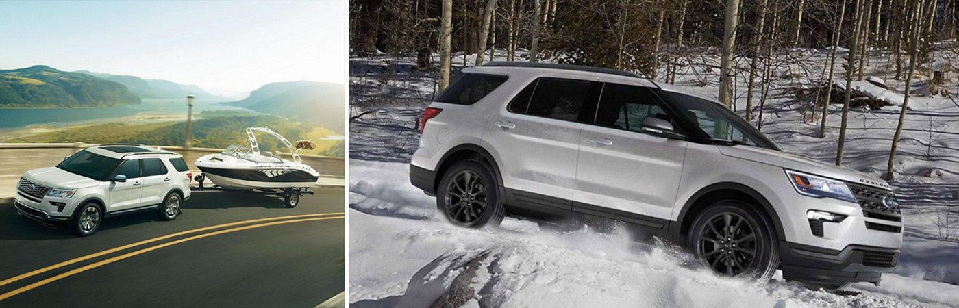 The 2019 Ford Explorer for sale or lease here at Chuck Colvin Ford Nissan in McMinnville comes loaded with premium safety features.