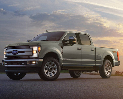 Green 2019 Ford F-250 Lariat available at Chuck Colvin Ford Nissan in McMinnville OR.