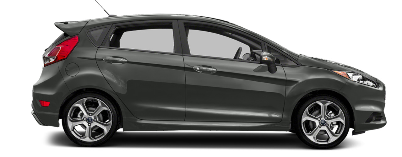Black Ford Fiesta ST for sale or lease here at Sayville Ford in Long Island NY.