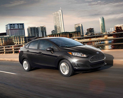 Black Ford Fiesta S waiting for you here at Bill Dube Ford in Dover..