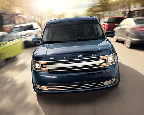 Blue Ford Flex Limited for sale or lease in McMinnville.