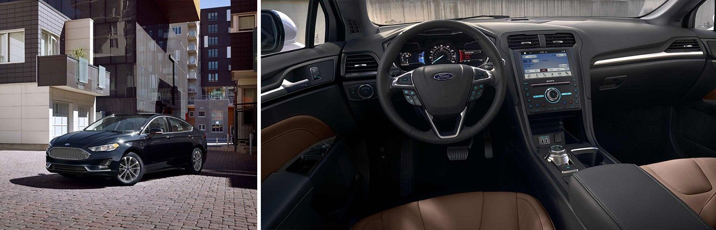 New Ford Fusions at Sayville Ford in Long Island come loaded with safety features.
