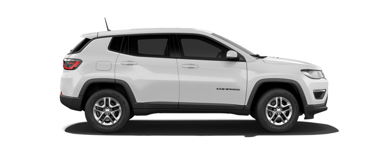 White Jeep Compass waiting for you in Bismarck ND at Eide Chrysler.
