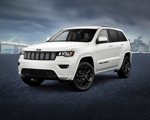 White Jeep Grand Cherokee Altitude available at Bice Motors Inc in Alexander City.
