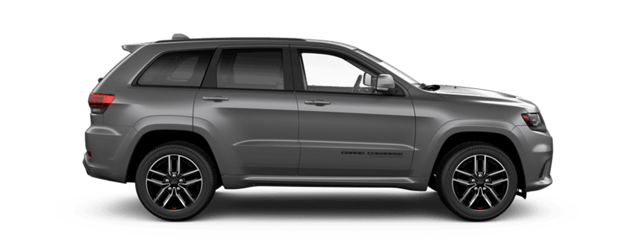 Grey Jeep Grand Cherokee on sale at Bice Motors Inc in Alexander City AL.