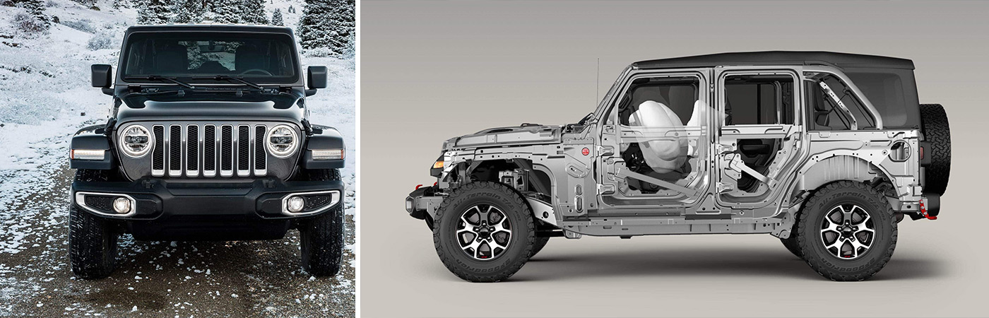A quick look at some of the many safety features waiting for you in a new Jeep Wrangler from Eide Chrysler in Bismarck.