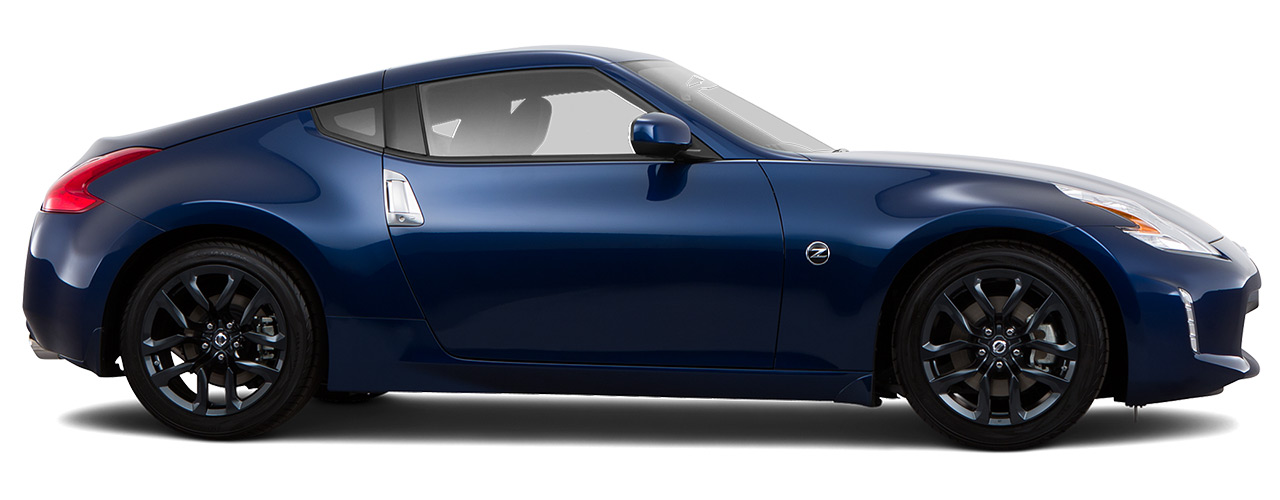 Blue Nissan 370Z for sale or lease at Boardman Nissan in Youngstown OH.