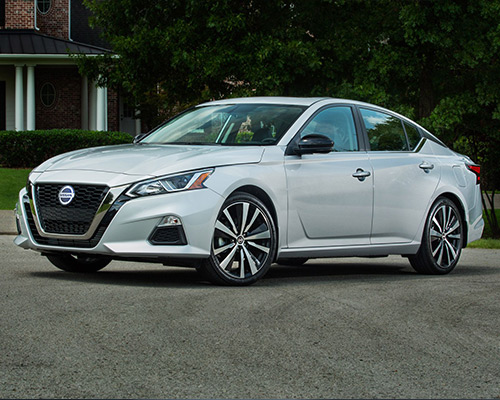 White Nissan Altima S for sale or lease here in Orlando FL