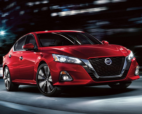 Red Nissan Altima SR for sale or lease in Orlando FL.