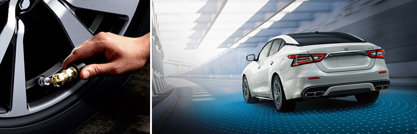 Safety features available in the Nissan Maxima from Ken Pollock Nissan.