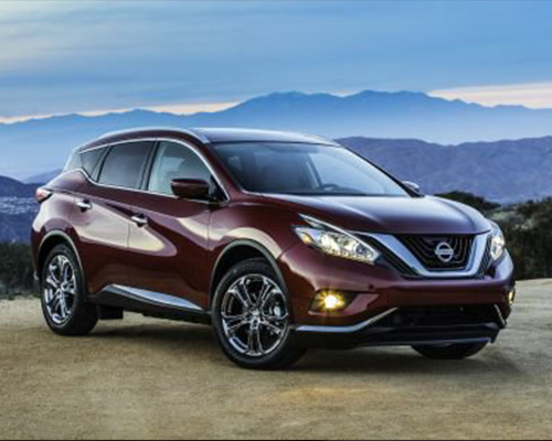 Burgundy Nissan Murano SL for sale or lease at Universal Nissan in SEO_LOCATION%.