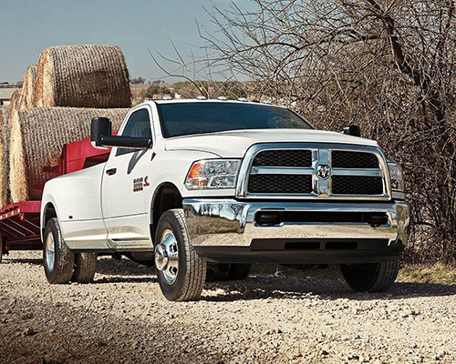 White Ram 3500 SLT available at Eide Chrysler in Bismarck.