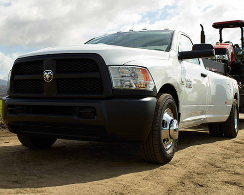 White Ram 3500 Trademan available at Eide Chrysler in Bismarck.
