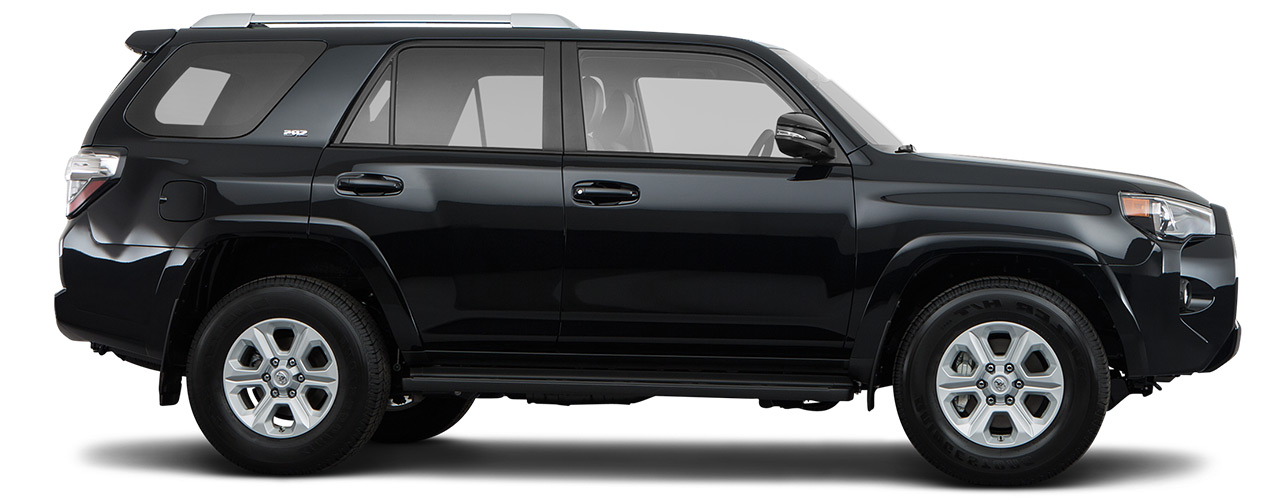 Black Toyota 4Runner for sale or lease at Bill Dube Toyota in Dover.