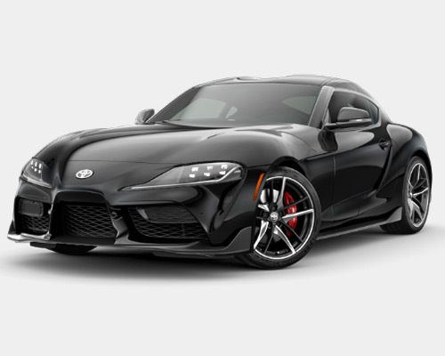 Black Toyota GR Supra 3.0 Premium for sale or lease here at Bill Dube Toyota in Dover NH.