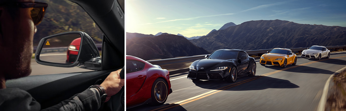 Safety tech waiting for you in the Toyota GR Supra.