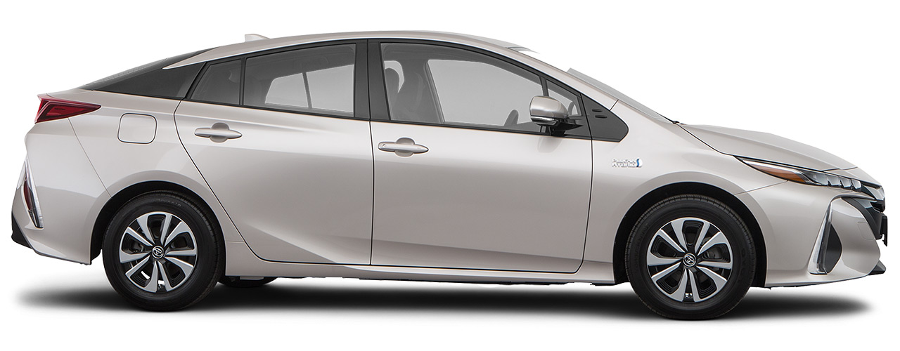 Cream Toyota Prius for sale or lease at Westbury Toyota in Westbury NY.