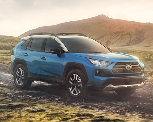 Toyota RAV4 Adventure for sale or lease at Westbury Toyota in Westbury.
