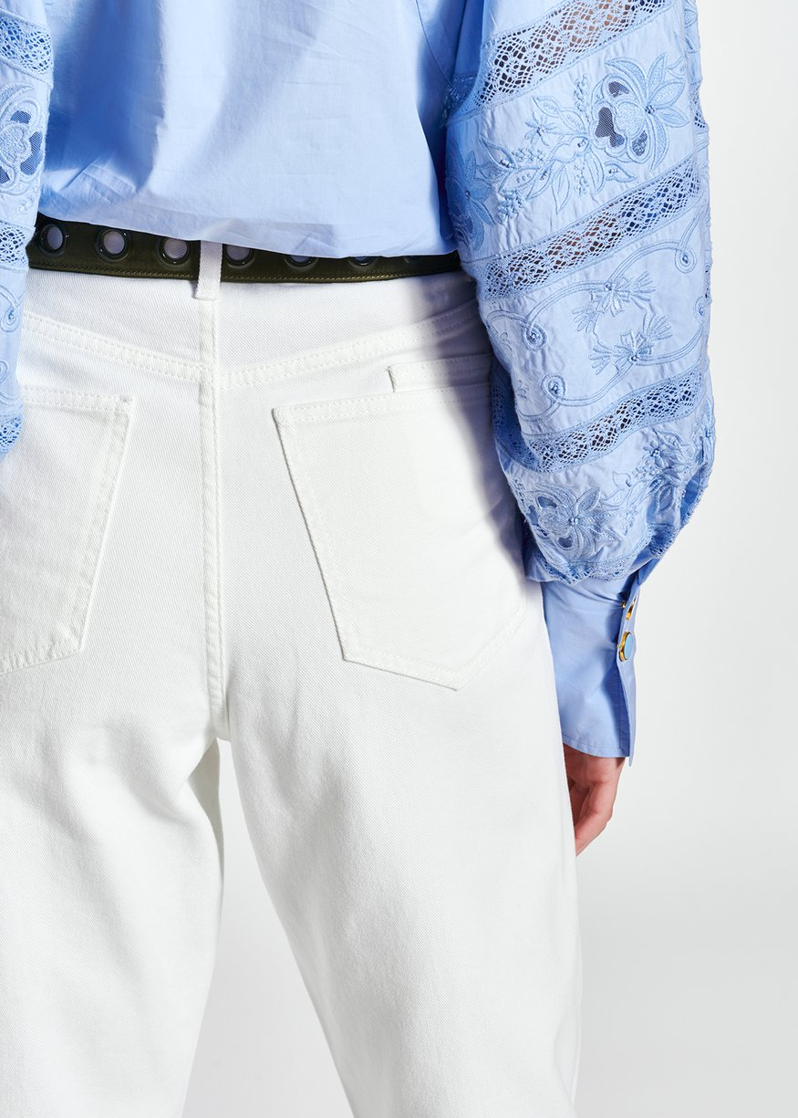 pantaloni ESSENTIEL | ZIE HIGTH WAISTOW01