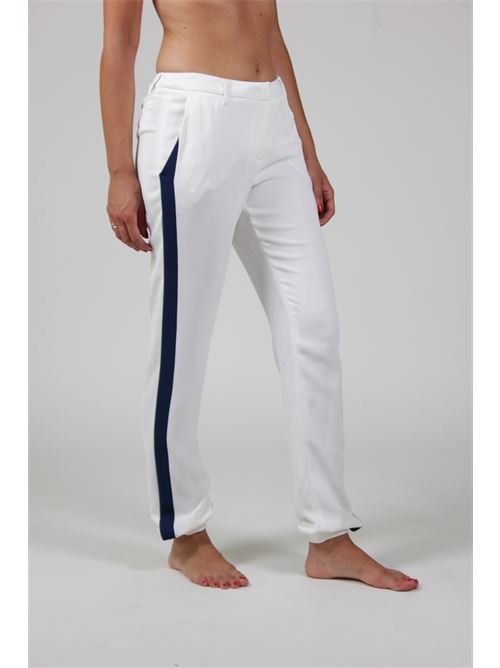 pantalone Frankie morello | Pantaloni | 16SFWPA04015015BIANCO