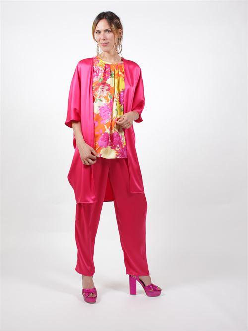 pantaloni con elastico capannolo | Pantaloni | 20EP426300MILA7