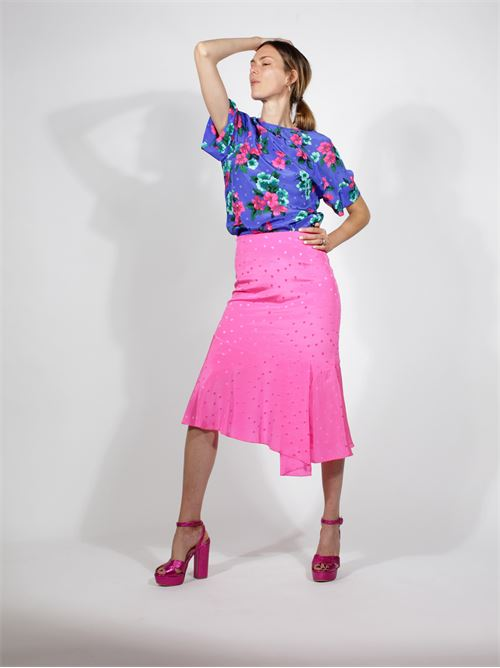 gonna longuette pois ESSENTIEL | Gonna | VARNOSKIRTPINK