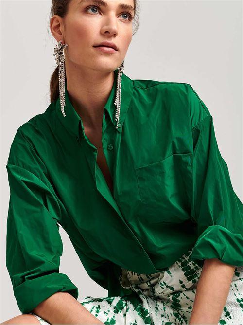 camicia taffetà ESSENTIEL | Camicia | VARZEASHIRTGREEN