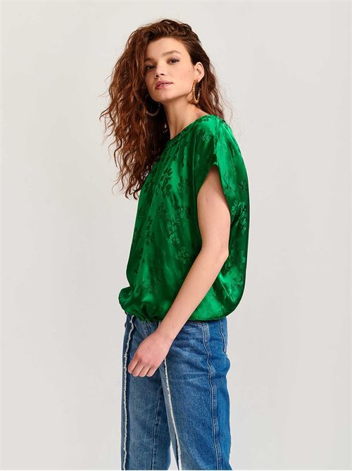 blusa mezza manica ESSENTIEL | Top | VUVUZELATOPGREEN