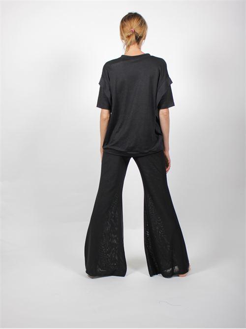 maglia bimateriale FABIANA FILIPPI | Maglia | JED270W604725