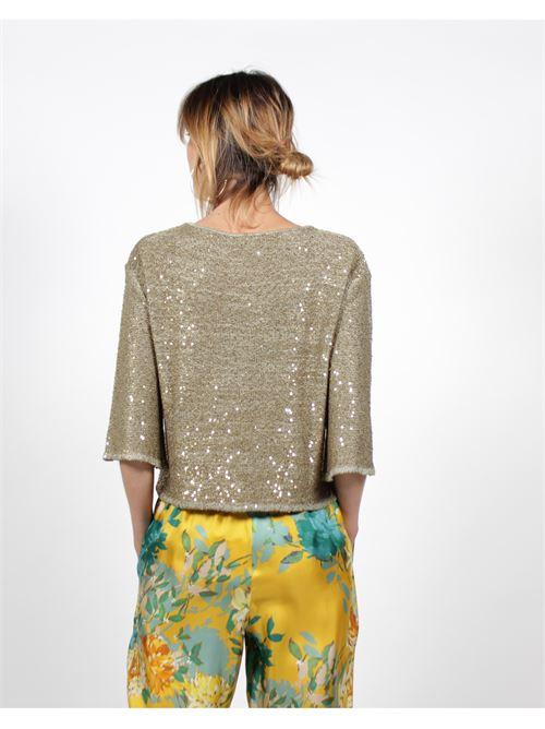maglia in paillettes MIDALI | Maglia | MCEBF34 919C31