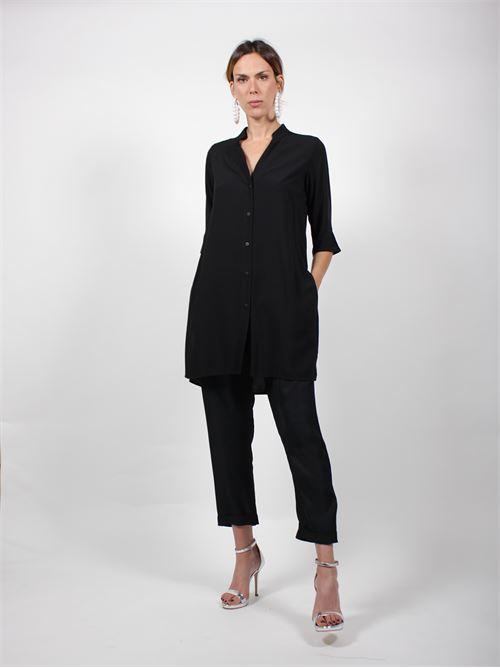 camicia lunga spacchi MIDALI | Camicia | MCET118 32533