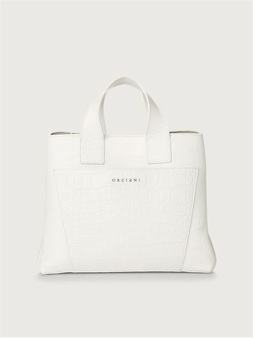 shopper in pelle ORCIANI | Borsa | B02074KINDUBIANCO