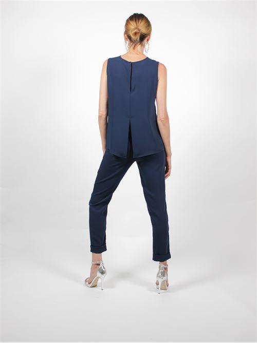 pantaloni con risvolto P.A.R.O.S.H. | Pantalone | D230162XPANTERS12