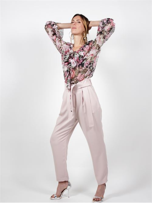 pantaloni vita alta P.A.R.O.S.H. | Pantaloni | D230427PANTERS63