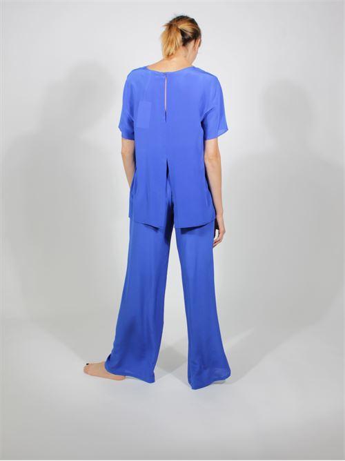 blusa seta P.A.R.O.S.H. | Blusa | D311245 SATIRA083