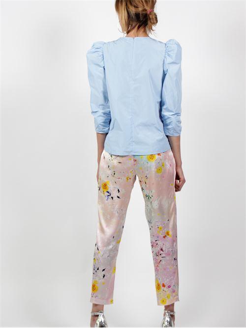 pantaloni seta Salvatore piccione | Pantaloni | P2T6204MULTICOLOR