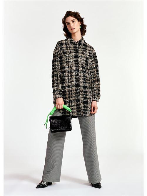 camicia ESSENTIEL | Camicia | WAYNE SEQUIN OVERSIZEDW1BL