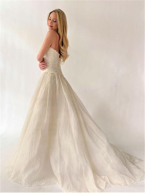 abito sposa Sartoria | Abito sposa | BEGONIABIANCO SETA