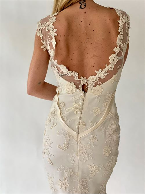 abito sposa Sartoria | Abito sposa | ORCHIDEABIANCO SETA