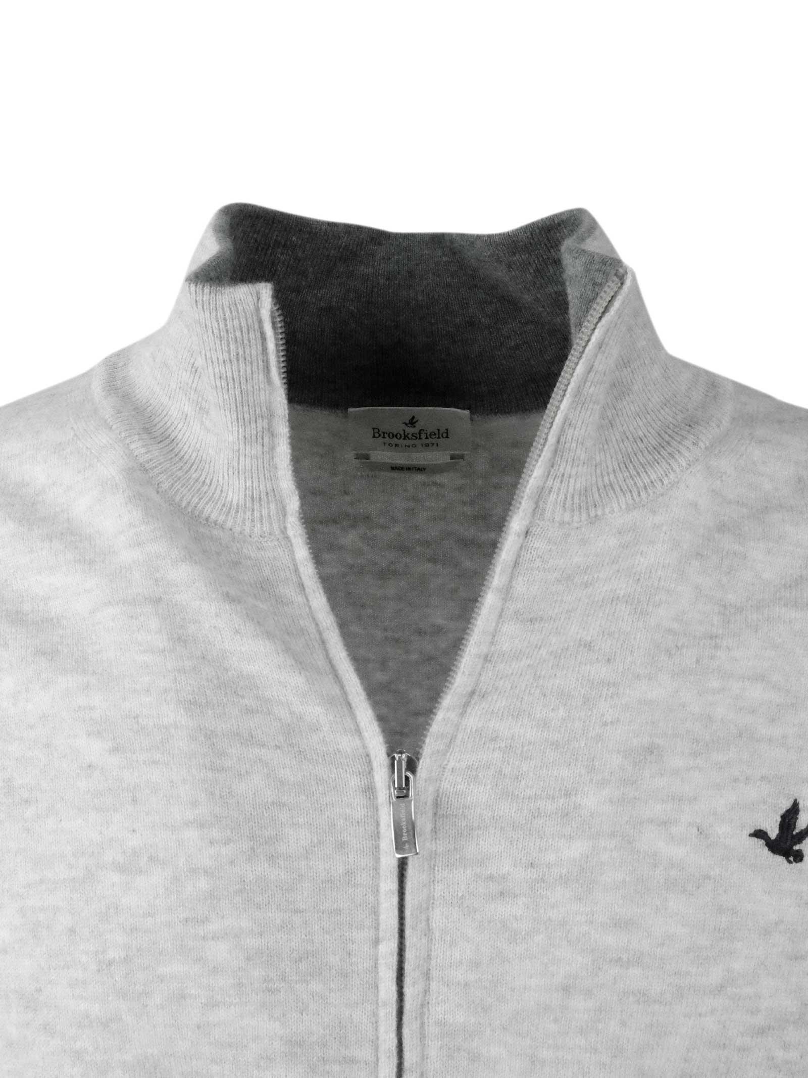 Cardigan zip BROOKSFIELD | Maglieria | 202E K031118