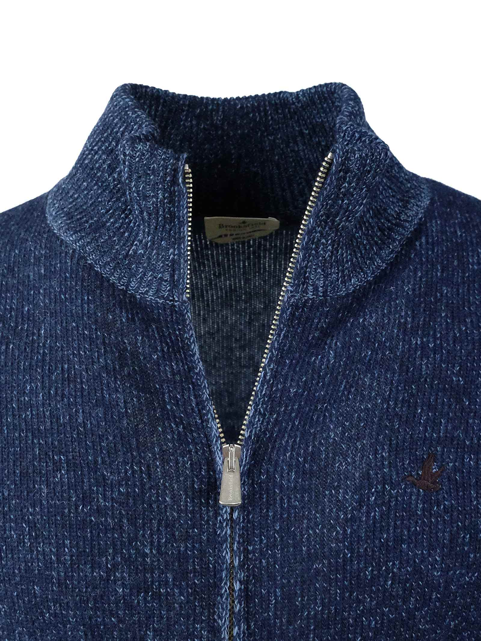 CARDIGAN ZIP BROOKSFIELD | Maglieria | 203G M012031