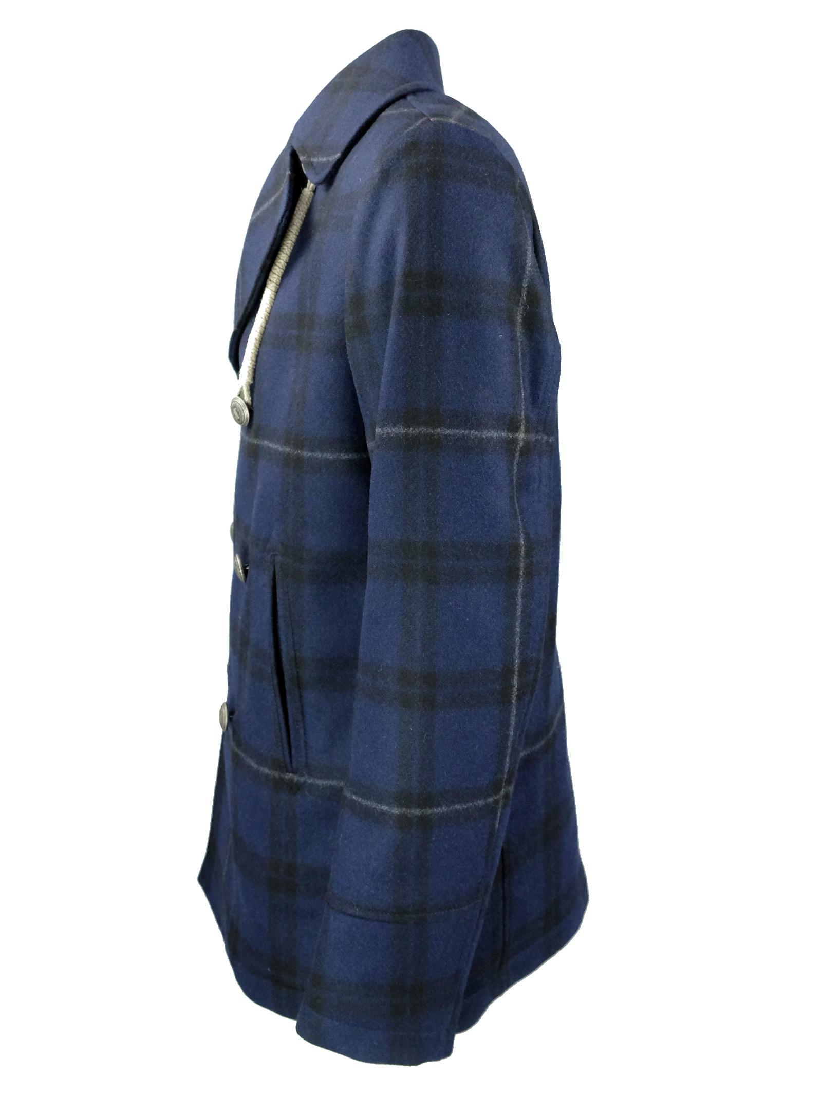 Peacoat in lana CAMPLIN | Giacconi | ISLANDQN